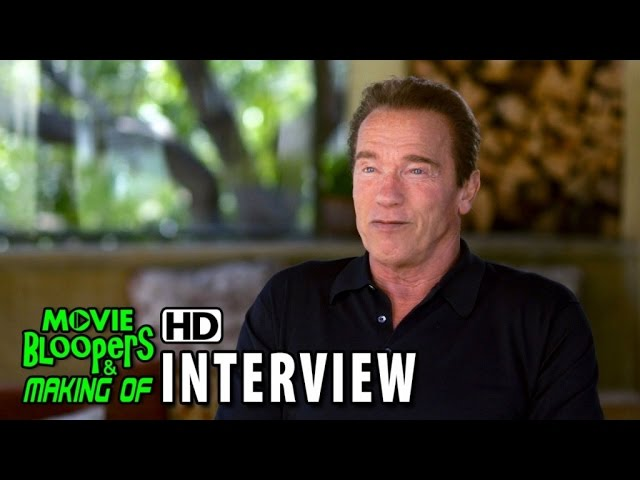 Terminator Genisys (2015) Behind the Scenes Movie Interview - Arnold Schwarzenegger is 'Guardian'