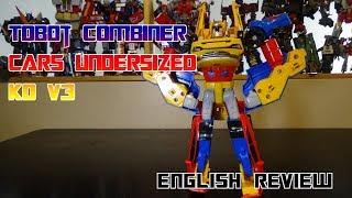 Video Review for Tobot Combiner Cars Undersized KO V3