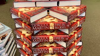 "Fire and Blood by George R.R. Martin ""Unboxing"""