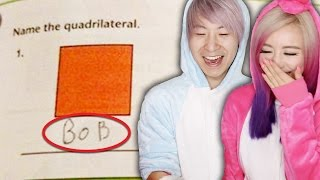 Funniest Kids Test Answers!