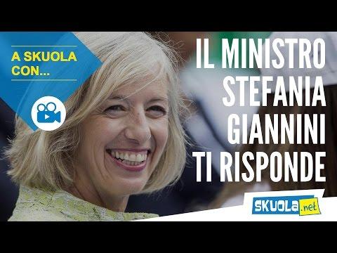 A Skuola con... il ministro Stefania Giannini
