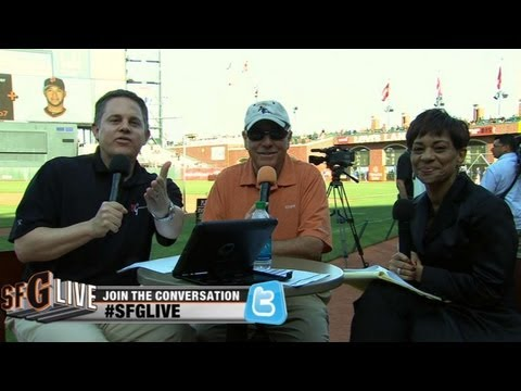 Metallica talks baseball on SFG Live