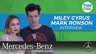 Miley Cyrus And Mark Ronson On 34 Nothing Breaks Like A Heart 34 Elvis Duran Show