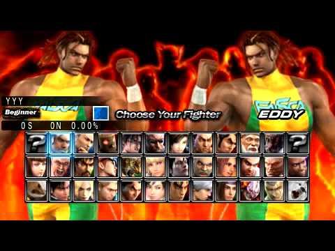 Tekken 5 - Dark Resurrection - Gameplay & Intro - Psp video