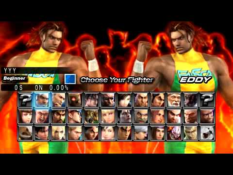Tekken 5 - Dark Resurrection - Gameplay & Intro - PSP