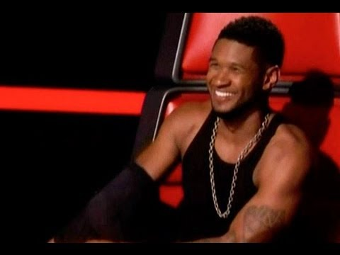USHER TAKES SHIRT OFF & CHRISTINA AGUILERA RETURNING