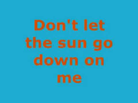 Elton John - Dont Let The Sun