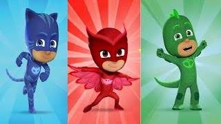 PJ Masks Hero Training - Disney Junior Catboy Gekko Owlette Training Game For Kids