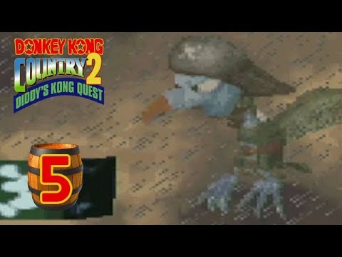 Donkey Kong Country 2: Diddy's Kong Quest (102%) - Episode 5