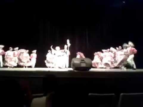 COBAO 07 Tuxtepec -Estatal 2014- Danza folclórica (Sinaloa)