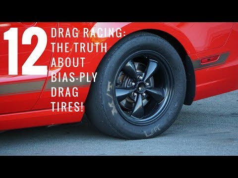 The Truth About Bias Ply Drag Tires. Mickey Thompson ET Streets Review