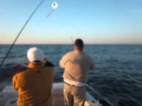 Fishing Salmon Ludington Michigan - Big Point Sable