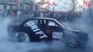 Tunisie Sousse - Champion de drift national !!!