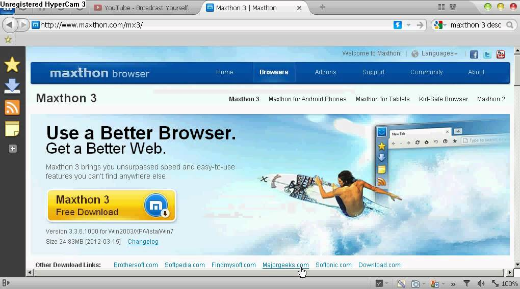 Download Descargar Maxthon Gratis Espaol