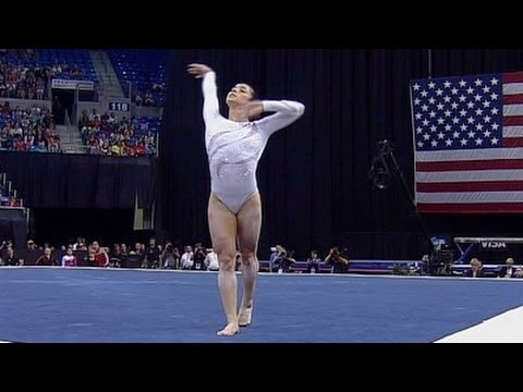 Aly Raisman takes 3rd AA, 1st BB & FX at Visa Championships - Night 2 Routines