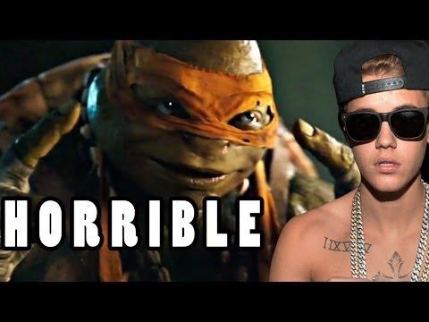Bieber Crashes, Michael Bay Ruins TMNT