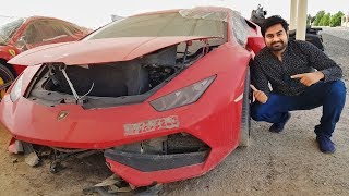 Buying Crashed Lamborghini in Dubai