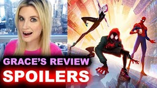 Spider-Man Into the Spider-Verse SPOILER Review