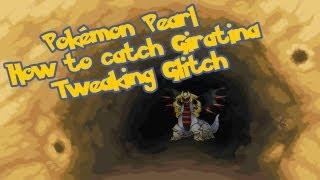 Pokemon Diamond/Pearl (TAS) Catch Giratina with 2. Badges [Tweaking Glitch]