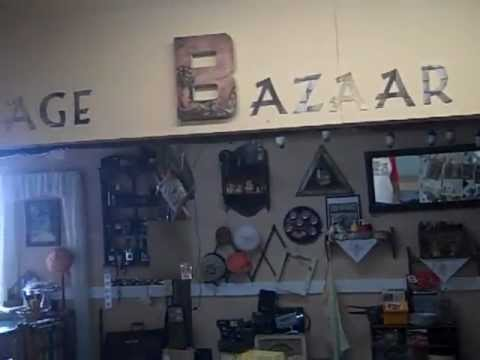 Quick Video View of the Daytona Flea Market Shop Retro Vintage Bazaar