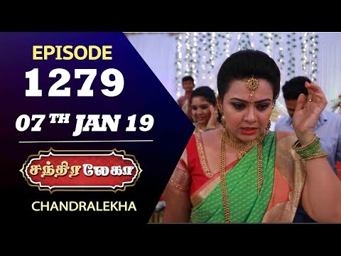 CHANDRALEKHA Serial | Episode 1279 | 07th Jan 2019 | Shwetha | Dhanush | Saregama TVShows Tamil
