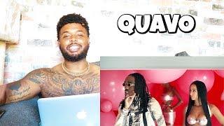 QUAVO - B U B B L E G U M (Official Music Video)   Reaction