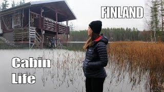 Log Cabin Life in Finland