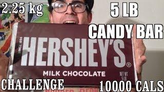 5 Lb Hershey Bar Challenge for 1 Million Views (#BearSilber #WickedShrapnel Made it Happen)