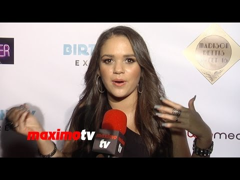 Madison Pettis Interview | Sweet 16 Birthday Party! | Red Carpet
