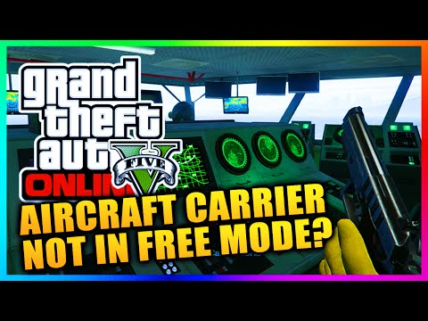 GTA 5 Online - Heists Aircraft Carrier NOT Coming To Free Mode - Will It Return? (GTA V)