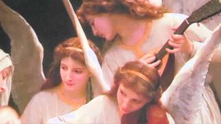 Song of Angels by Bouguereau Window Hang