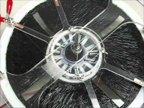 Turkey Paper Motor - Biomimetics Laboratory Self Commutating Artificial Muscle Motor