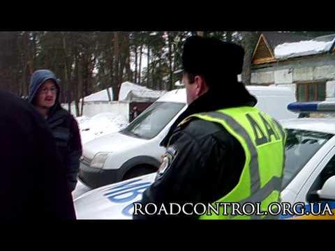Водитель пошел с битой на КОБРУ | 16.02.13