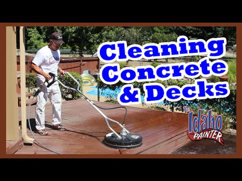 CONCRETE CLEANING HACKS Mi-T-M All Surface Cleaner Review.