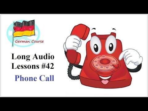 Deutsch Lernen #85 Kann ich hier telefonieren?