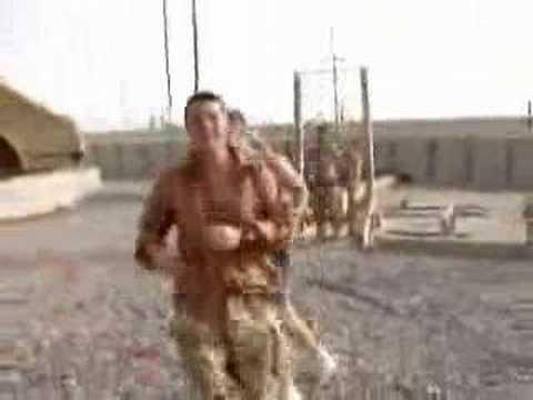 Crazy British SAS Dance