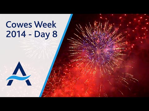 Cowes Week 2014 - Day 8 Highlights