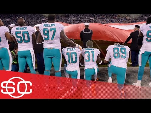 Miami Dolphins could suspend players up to 4 games for anthem protests | SportsCenter | ESPN