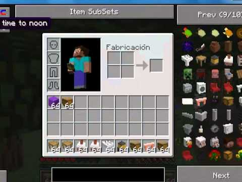 descargar minecraft 1.2.5 con 10 mods