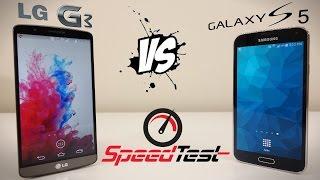 LG G3 vs Samsung Galaxy S5 hız testi