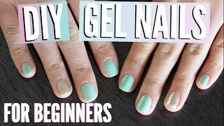 Gel Nail Polish for Beginners Tutorial | TutorialsByA