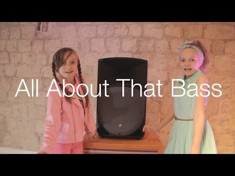 All About That Bass - Meghan Trainor By 9 Year Old Skye & 11 Year Old Sapphire video