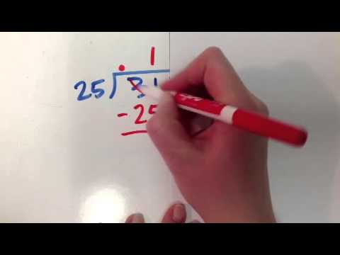 how to put a decimal into a whole number