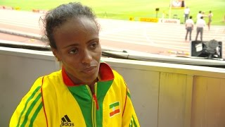 Mare Dibaba First Ethiopian Woman Ever To Win World Marathon Title!