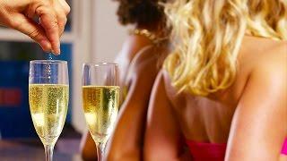 WATCH Guy Slip Date Rape Drug Into Girls' Drinks