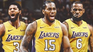 LeBron James to the Lakers? Fantasy Big 3 or Reality? 2018 NBA Free Agency