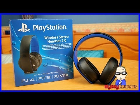 Official Sony PlayStation Gold 7.1 Wireless Headset (PS4)   Unboxing. Set-Up & Review   MyKeyReviews