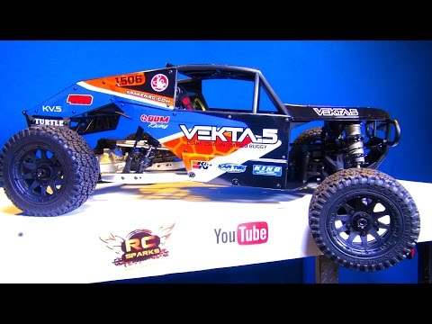 RC ADVENTURES - IT'S A GiANT! We UNBOX a KRAKEN VEKTA 5 RC TRUCK!