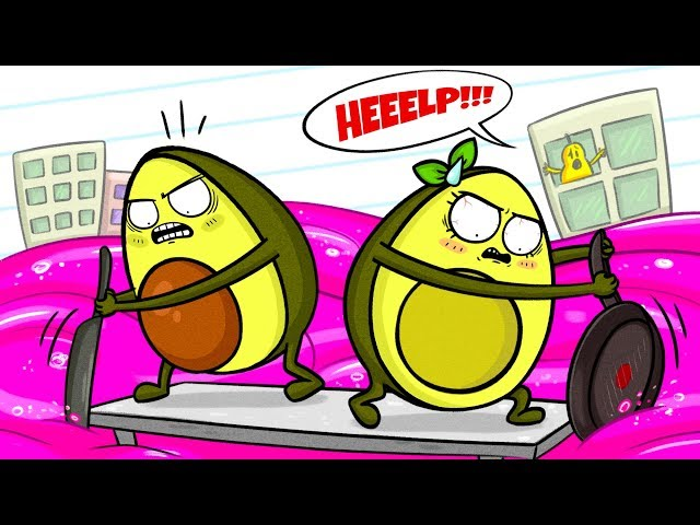 Vegetables Save City From Slime - Cartoons thumbnail