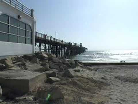 San diego destinations oceanside pier youtube for Oceanside pier fishing reports